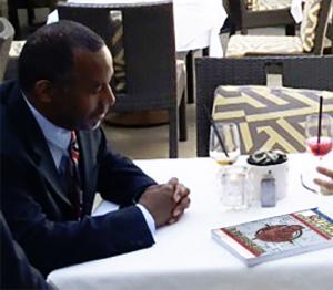 Ben Carson meets with Dr. del Marmol